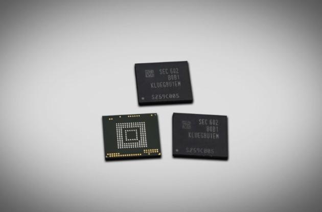 Samsung ha avviato la produzione di massa della memoria UFS 2.0 da 256GB
