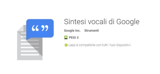 Google aggiunge nuove voci alla propria sintesi vocale