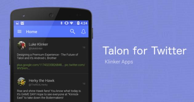 Talon 4.0: tante novità al layout e non solo