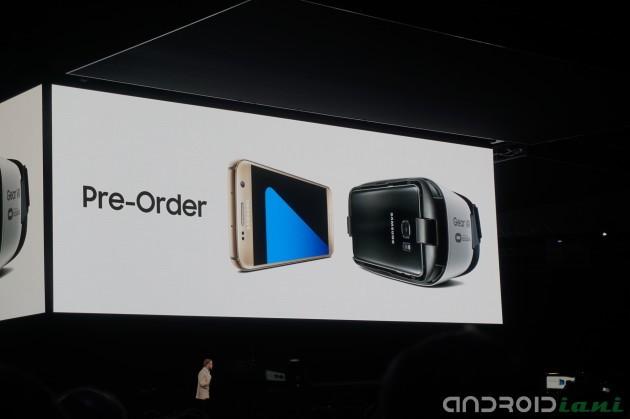 Samsung Galaxy S7 e S7 Edge già disponibili al pre-ordine in Italia