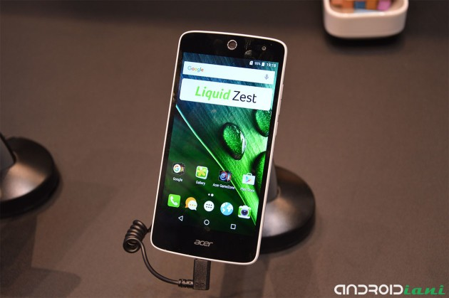 Acer presenta Liquid Z630S e Liquid Zest