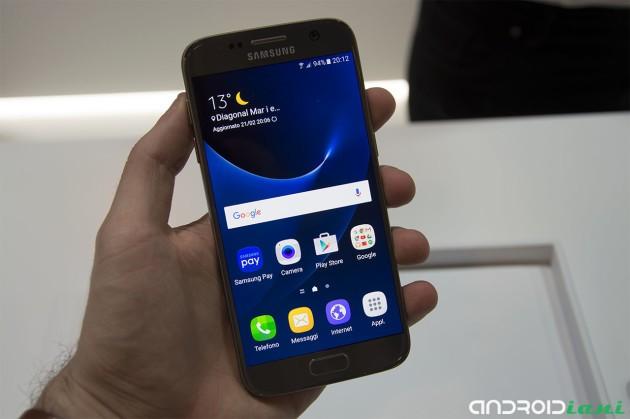 Samsung Galaxy S7 ha il display migliore del mercato secondo DisplayMate