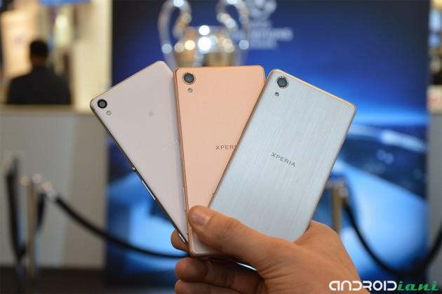 Sony presenta la nuova gamma Xperia X