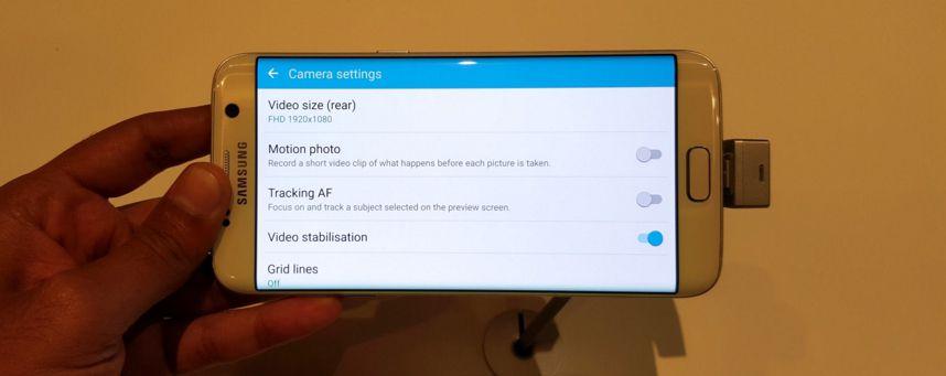 Galaxy S7 Edge Motion Photo