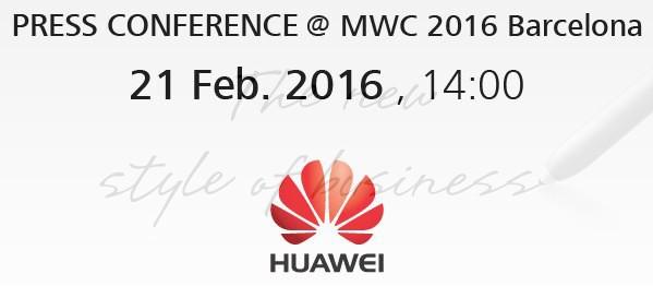 Evento Huawei: diretta live streaming dalle 14 [MWC 2016]