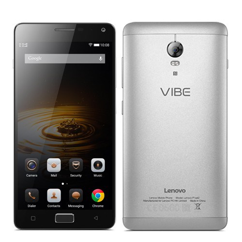 Lenovo Vibe P1 Turbo svelato, schermo Full HD e batteria da 5000 mAh