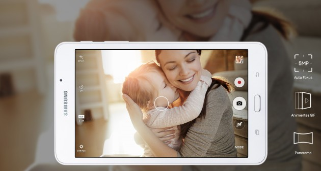 Samsung Galaxy Tab A 2016 svelato tramite il sito ufficiale