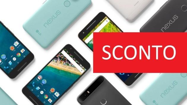 Nexus 6P e 5X: sconto interessante sul Google Store
