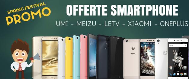 Topreseller Spring Festival: smartphone Xiaomi, Meizu, OnePlus e altri in offerta