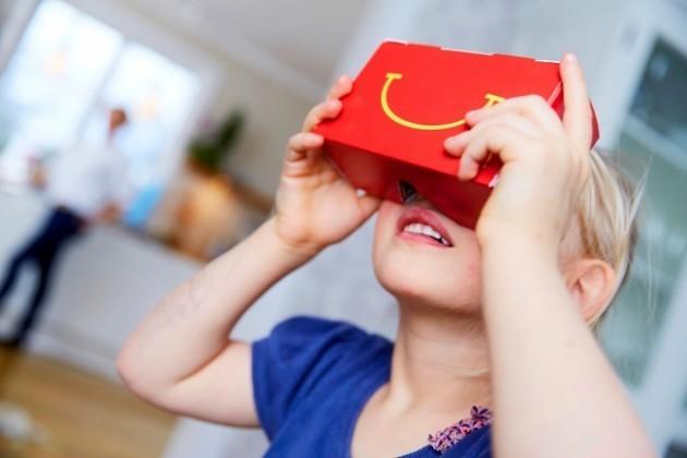 Happy Goggle VR: il nuovo visore VR di McDonalds