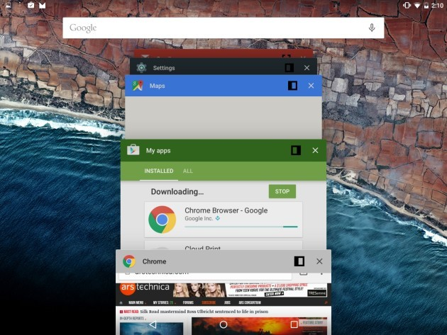 Android N: preview disponibile al download con Project Svelte e Screen Zoom