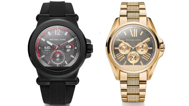 Michael Kors presenta i suoi primi smartwatch con Android Wear