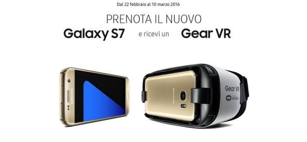 Samsung Galaxy S7, niente GearVR per chi ha registrato il prodotto in anticipo