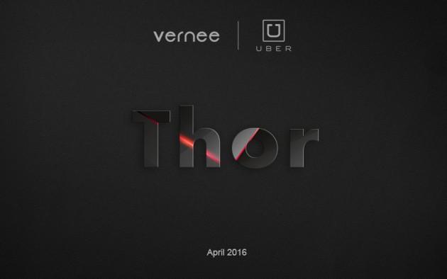 Uber collaborerà con Vernee per la produzione di un nuovo smartphone