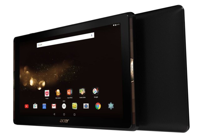 Acer Iconia Tab 10 ufficiale: display FHD e CPU quad-core Mediatek a 229€