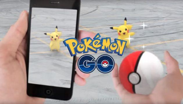 Pokemon Go si mostra in un altro video gameplay
