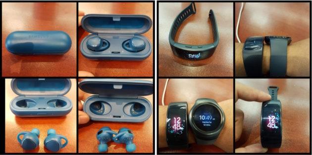 Samsung Gear Fit 2 e IconX si mostrano nelle prime foto