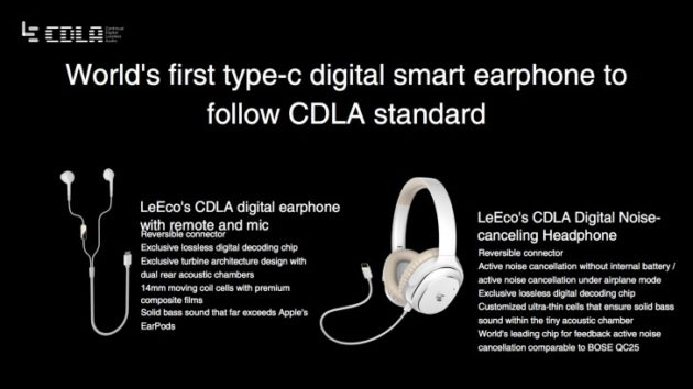 LeEco: in arrivo le nuove cuffie con USB Type-C e tecnologia lossless