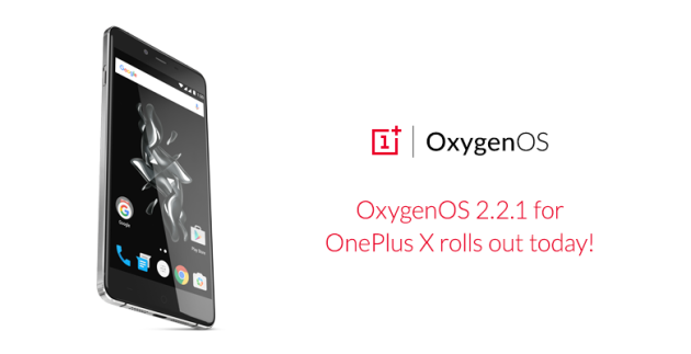OnePlus X inizia a ricevere OxygenOS 2.2.1