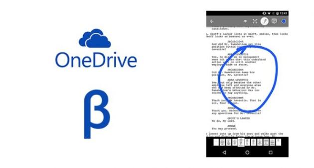 OneDrive Beta si aggiorna e introduce l'editing dei PDF