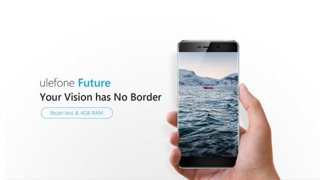 Ulefone Future: ufficiale lo smartphone bezel-less