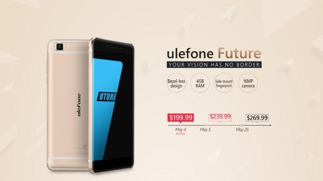 Ulefone Future: offerta lampo a $199.99 per le prime 2000 unità