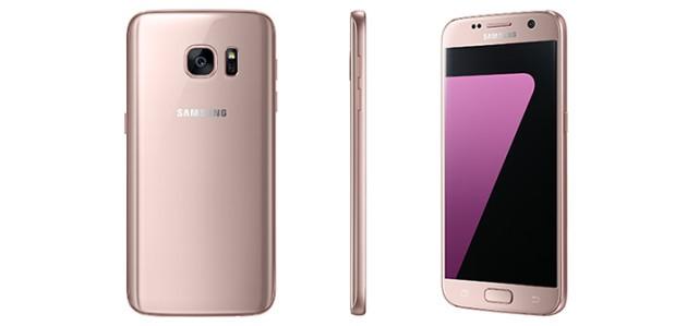 Galaxy S7: arriva la nuova colorazione Rose Gold