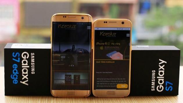 Galaxy S7 ed S7 Edge in oro 24k: prezzo