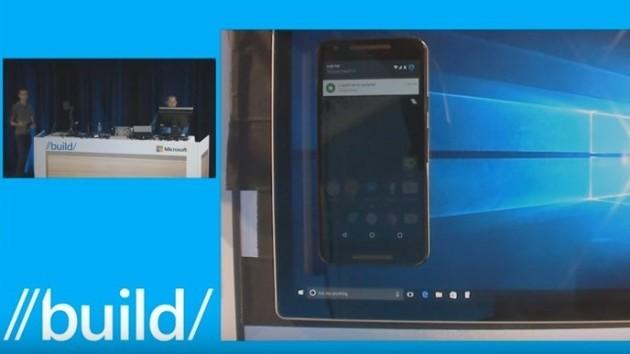 Windows 10 abbraccia Android, almeno riguardo alle notifiche