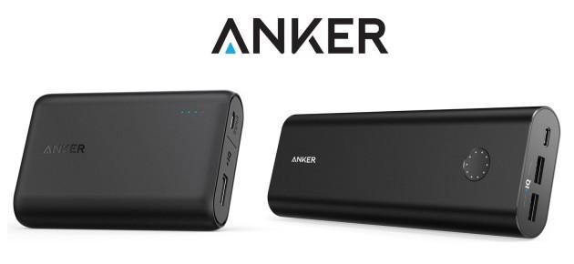 Anker PowerCore 10000 e PowerCore+ 20100: la recensione