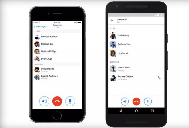 Facebook Messenger, arrivano le chiamate vocali di gruppo