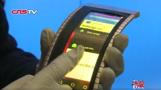 Smartphone completamente flessibili? Finalmente realtà