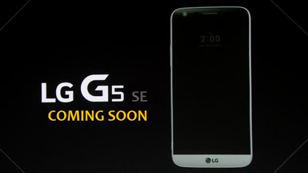 LG pronta a lanciare un G5 SE nell'imminente futuro?