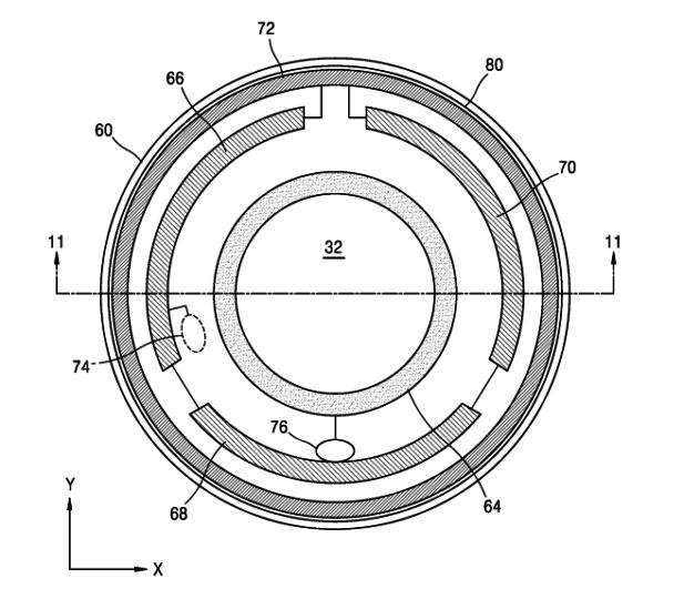 Samsung brevetta le lenti a contatto smart