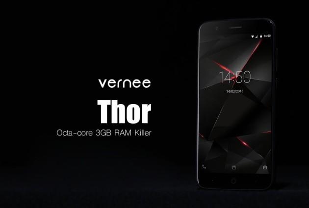 Vernee mostra Thor in una serie di stress test