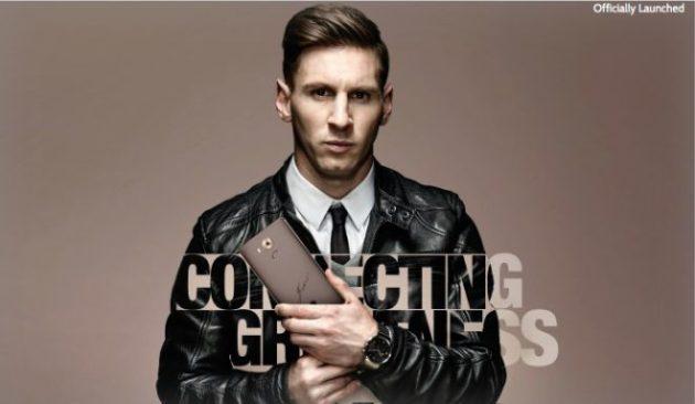 Huawei Mate 8: in arrivo un'edizione limitata autografata da Lionel Messi