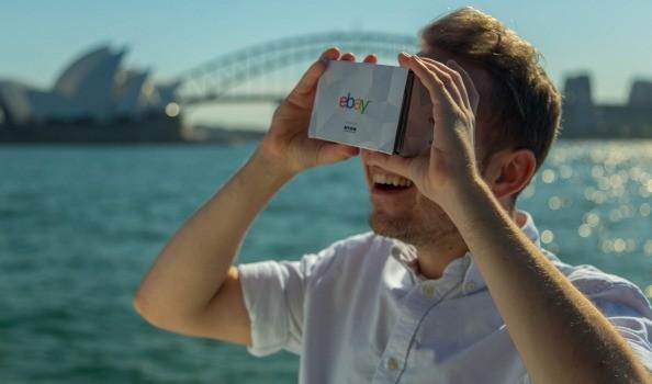 eBay ha realizzato il primo centro commerciale in realtà virtuale
