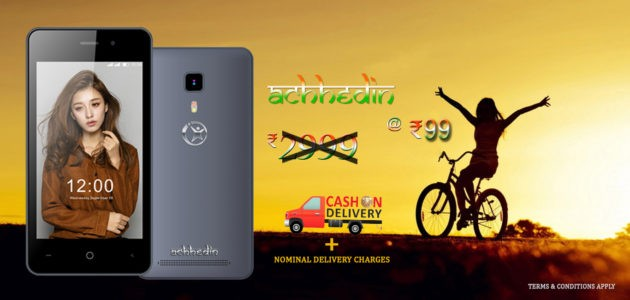 Namotel Achhedin: lo smartphone da appena 1,30€