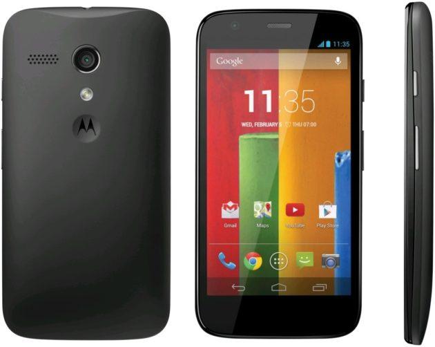 Motorola Moto G (2013) riceve un importante aggiornamento di sicurezza