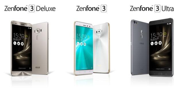 ASUS presenta ufficialmente la nuova famiglia Zenfone 3