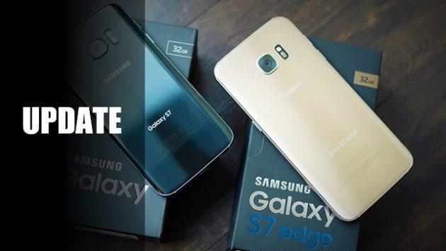 Galaxy S7 ed S7 Edge: nuovo aggiornamento in arrivo