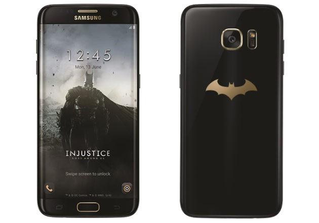 [UPDATE: Ufficiale] Samsung accende il Bat-segnale sul Galaxy S7 Edge Injustice Edition