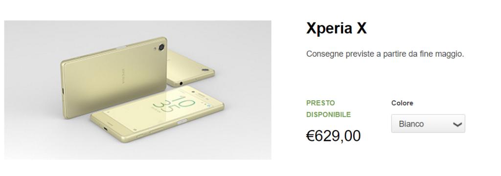 Prenota un dispositivo della serie Xperia X con uno sconto del 50 su SmartBand 2