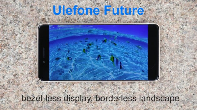 Ulefone Future: Performance del display bezel-less