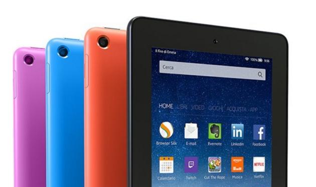 Amazon: Kindle Fire a 1 Euro, purtroppo è solo un errore