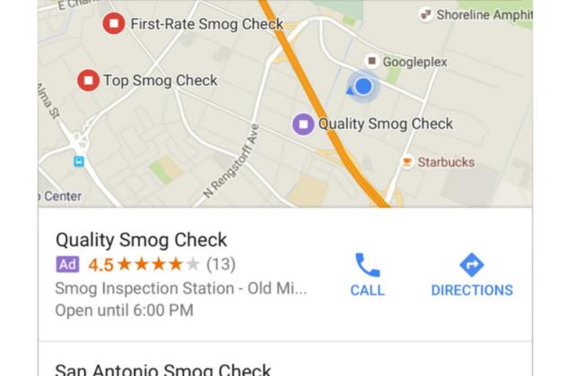 Google Maps, in arrivo le inserzioni sponsorizzate