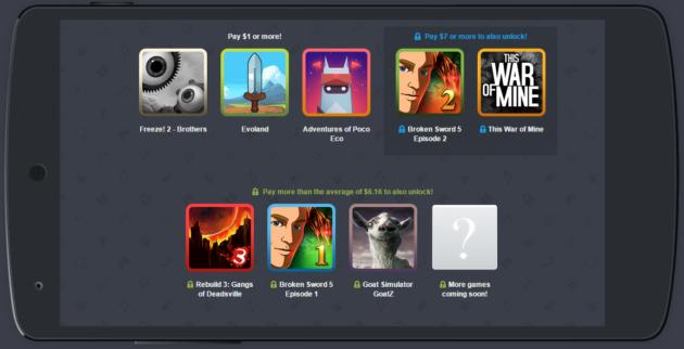 Humble Mobile Bundle: tanti giochi a partire da 1 dollaro