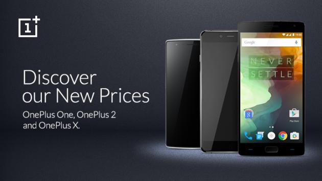OnePlus, calo di prezzo per gli smartphone della compagnia