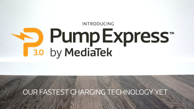 MediaTek introduce la ricarica super veloce con Pump Express 3.0