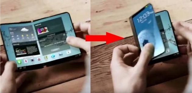 Samsung, lo smartphone pieghevole arriverà nel 2017 [Rumor]